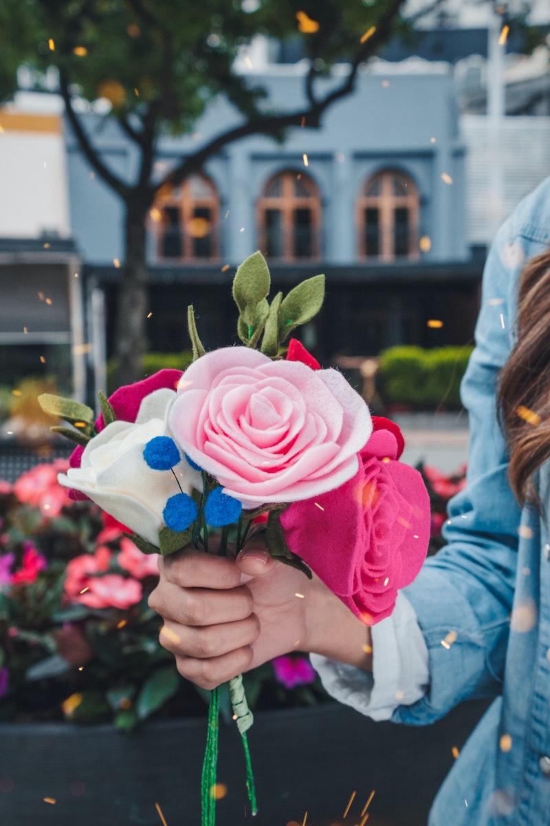 image - felt flowers by luis-cortes