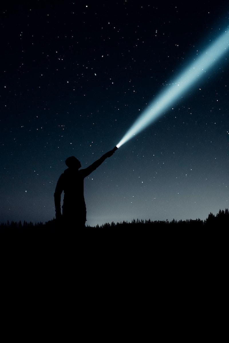 image - flashlight torch for trampoline sleepover by linus-sandvide