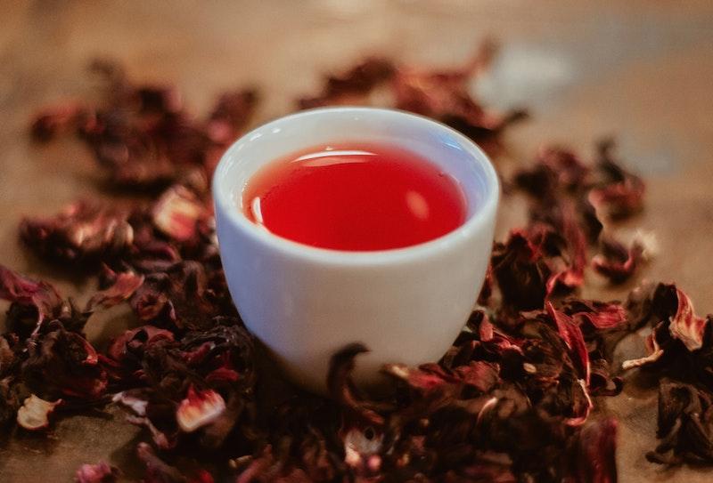image - dried edible flower tea by gabi-miranda