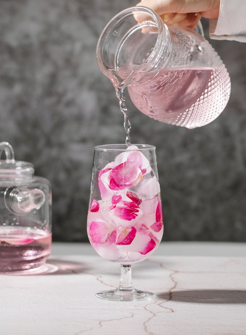 image- edible rose petal ice cubes by pexels-charlotte-may
