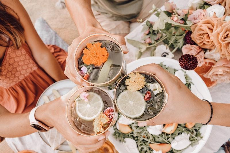 image - flower cocktails by nicole-herrero