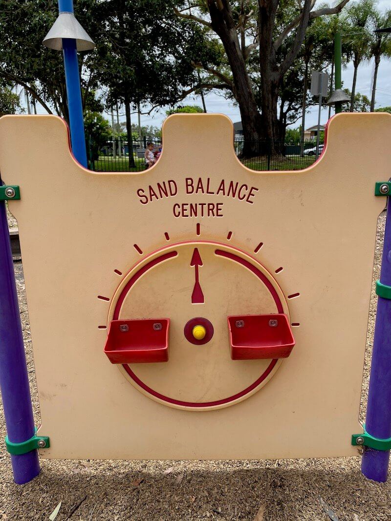 image - laguna park palm beach sand balance centre