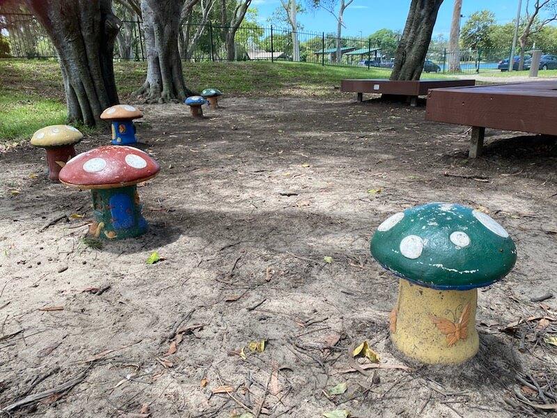 image - laguna playground toadstools
