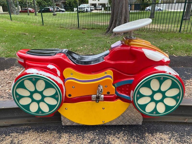 image - laguna park playground monorail bike