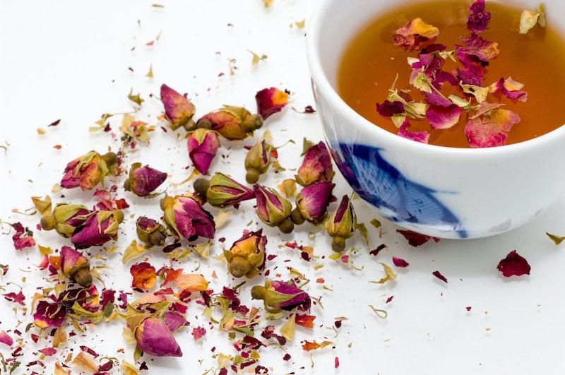 image - rose petal tea by marco-secchi-u