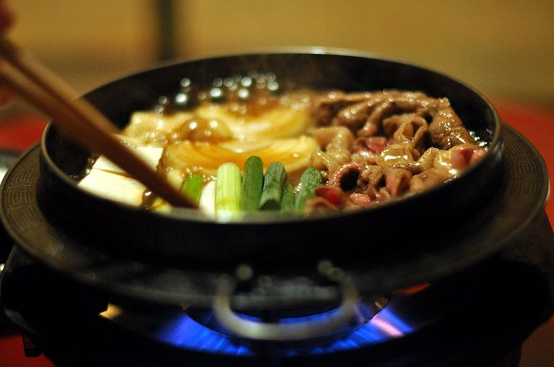 image - Sukiyaki hot pot wikipedia