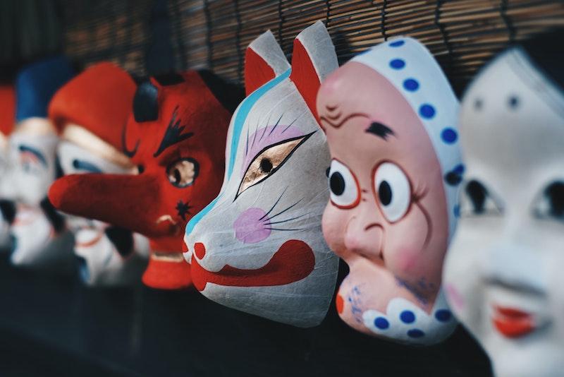 image - Japanese art masks by finan-akbar unsplash