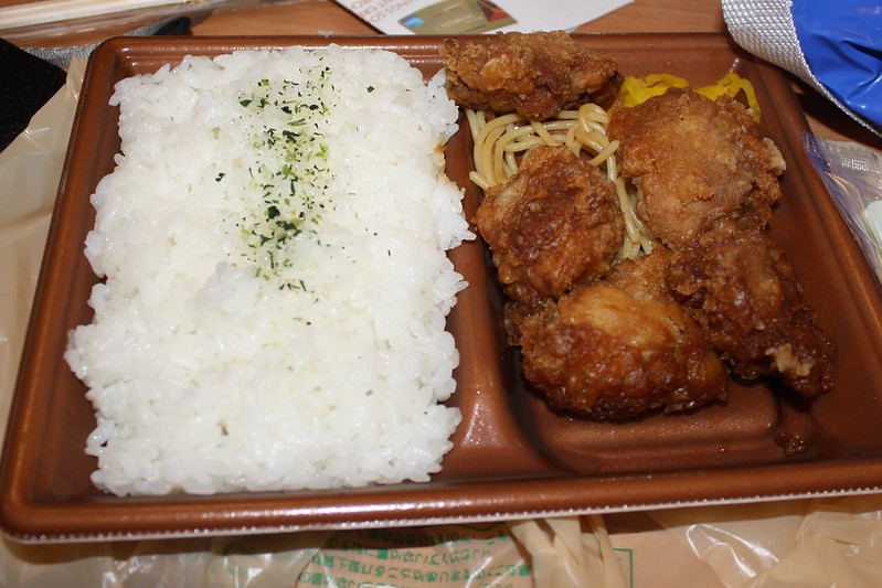 image - japanese chicken bento by amy jane mitchell flickr