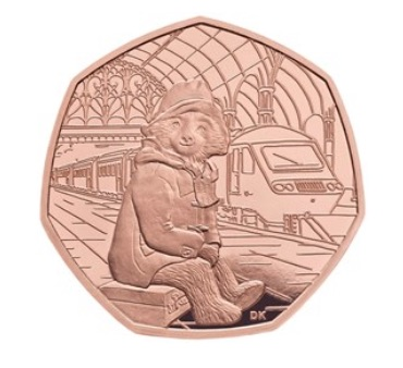 image - paddington bear 50p coins