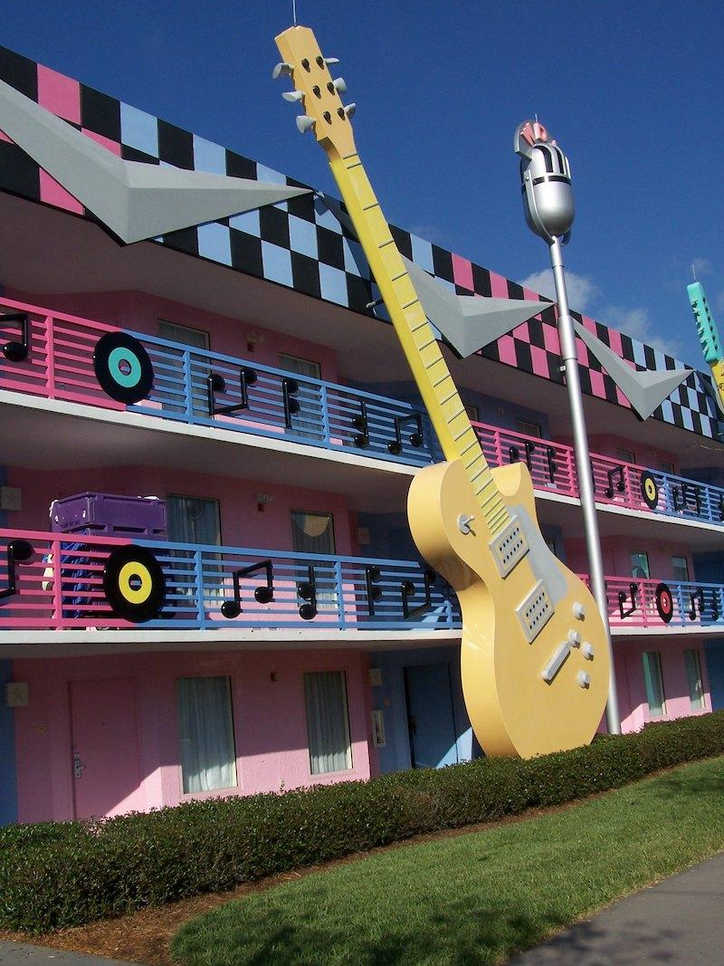 image- disney's all star music resort by joel flickr