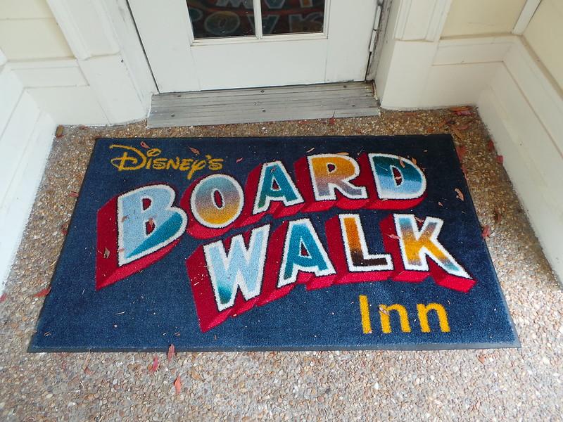 image - disney's board walk inn doormat by debmomof3 flickr