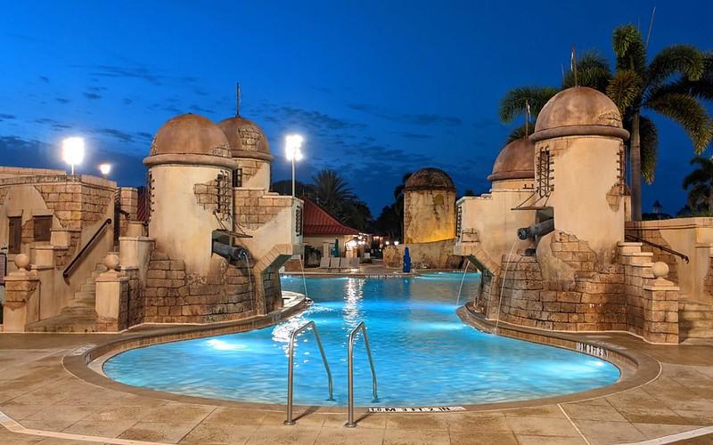 image - disney's caribbean beach resort pool by cdorobek