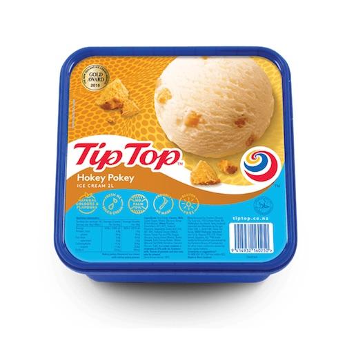 image - tip top hokey pokey ice cream