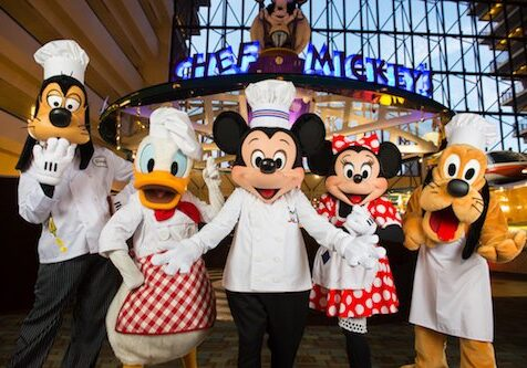 32. S disneyworld chef mickeys 500
